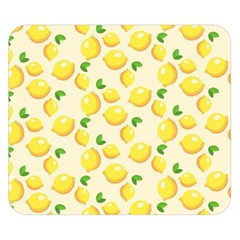 Lemons Pattern Double Sided Flano Blanket (Small)