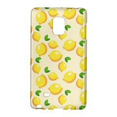 Lemons Pattern Galaxy Note Edge