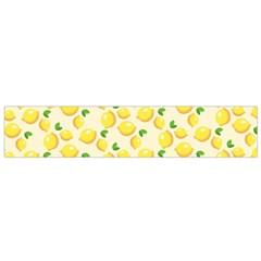 Lemons Pattern Flano Scarf (small)