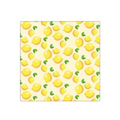 Lemons Pattern Satin Bandana Scarf