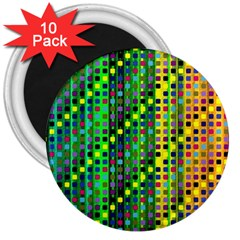 Patterns For Wallpaper 3  Magnets (10 Pack)