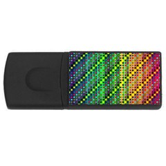 Patterns For Wallpaper USB Flash Drive Rectangular (1 GB)
