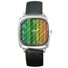 Patterns For Wallpaper Square Metal Watch
