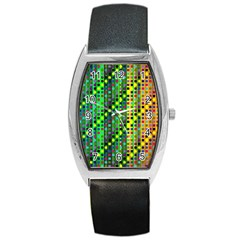 Patterns For Wallpaper Barrel Style Metal Watch