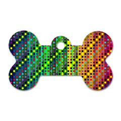 Patterns For Wallpaper Dog Tag Bone (two Sides)
