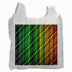 Patterns For Wallpaper Recycle Bag (two Side)