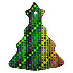 Patterns For Wallpaper Christmas Tree Ornament (two Sides)