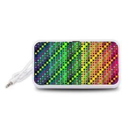 Patterns For Wallpaper Portable Speaker (White)