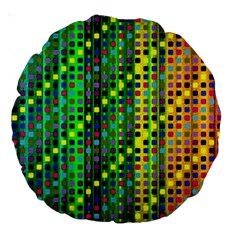 Patterns For Wallpaper Large 18  Premium Round Cushions