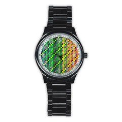 Patterns For Wallpaper Stainless Steel Round Watch