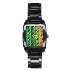 Patterns For Wallpaper Stainless Steel Barrel Watch