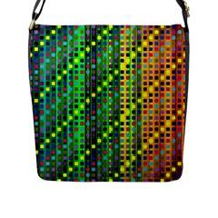 Patterns For Wallpaper Flap Messenger Bag (l)