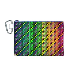 Patterns For Wallpaper Canvas Cosmetic Bag (M)