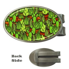 Cactus Money Clips (Oval)