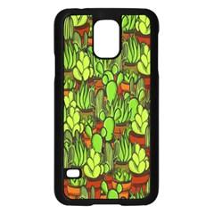 Cactus Samsung Galaxy S5 Case (Black)