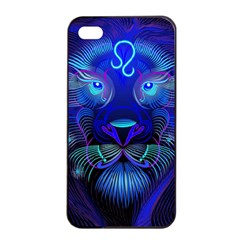Sign Leo Zodiac Apple iPhone 4/4s Seamless Case (Black)