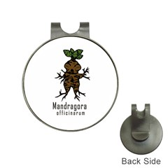 Mandrake plant Hat Clips with Golf Markers