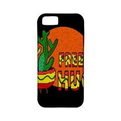 Cactus - free hugs Apple iPhone 5 Classic Hardshell Case (PC+Silicone)