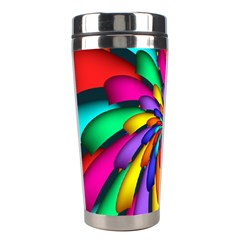 Star Flower Color Rainbow Stainless Steel Travel Tumblers