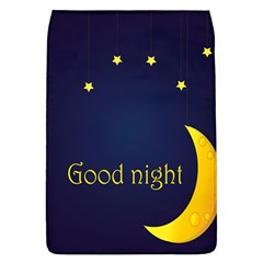 Star Moon Good Night Blue Sky Yellow Light Flap Covers (L)