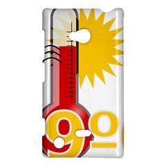 Thermometer Themperature Hot Sun Nokia Lumia 720