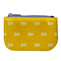 Waveform Disco Wahlin Retina White Yellow Large Coin Purse
