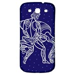 Aquarius Zodiac Star Samsung Galaxy S3 S III Classic Hardshell Back Case Front