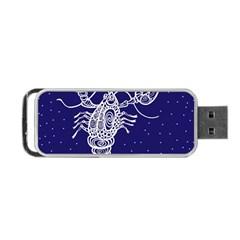 Cancer Zodiac Star Portable USB Flash (Two Sides)