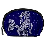 Capricorn Zodiac Star Accessory Pouches (Large)  Front