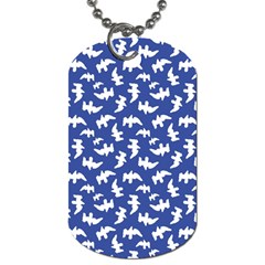 Birds Silhouette Pattern Dog Tag (two Sides)