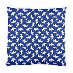 Birds Silhouette Pattern Standard Cushion Case (one Side)