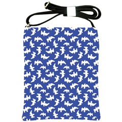 Birds Silhouette Pattern Shoulder Sling Bags