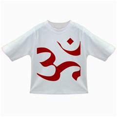 Hindu Om Symbol (Red) Infant/Toddler T-Shirts