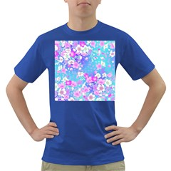 Flowers Cute Pattern Dark T Shirt