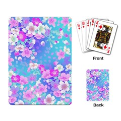 Flowers Cute Pattern Playing Card