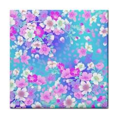 Flowers Cute Pattern Face Towel