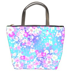 Flowers Cute Pattern Bucket Bags