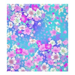 Flowers Cute Pattern Shower Curtain 66  X 72  (large)