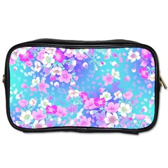 Flowers Cute Pattern Toiletries Bags