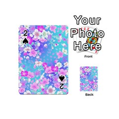 Flowers Cute Pattern Playing Cards 54 (Mini)