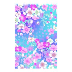 Flowers Cute Pattern Shower Curtain 48  X 72  (small)