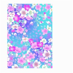 Flowers Cute Pattern Large Garden Flag (two Sides)