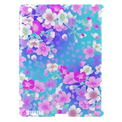 Flowers Cute Pattern Apple Ipad 3/4 Hardshell Case (compatible With Smart Cover)