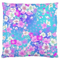 Flowers Cute Pattern Large Cushion Case (One Side)