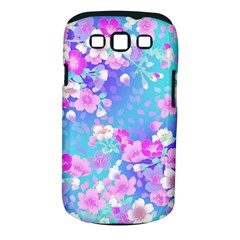 Flowers Cute Pattern Samsung Galaxy S III Classic Hardshell Case (PC+Silicone)