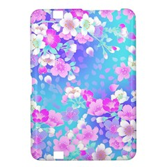 Flowers Cute Pattern Kindle Fire Hd 8 9