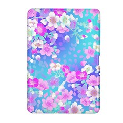 Flowers Cute Pattern Samsung Galaxy Tab 2 (10.1 ) P5100 Hardshell Case