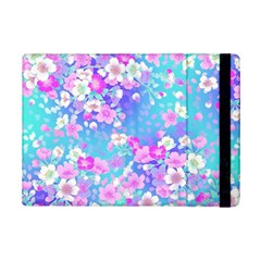 Flowers Cute Pattern Ipad Mini 2 Flip Cases
