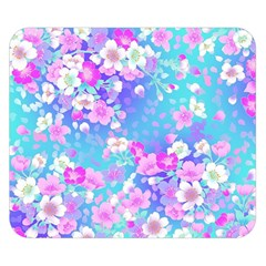 Flowers Cute Pattern Double Sided Flano Blanket (Small)