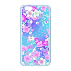 Flowers Cute Pattern Apple Seamless iPhone 6/6S Case (Color)